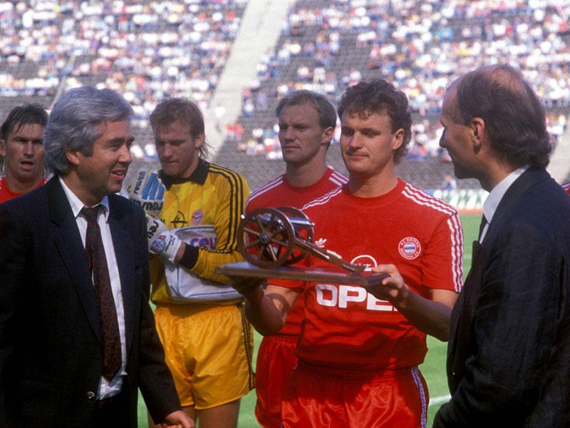 1991: Roland Wohlfarth (FC Bayern) - 21 Tore