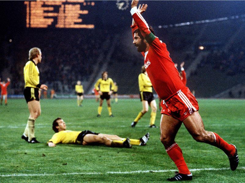 1978: Gerd Müller (FC Bayern) - 24 Tore