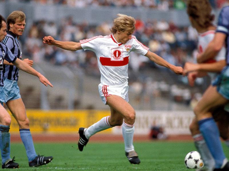 1988: Jürgen Klinsmann (VfB Stuttgart) - 19 Tore