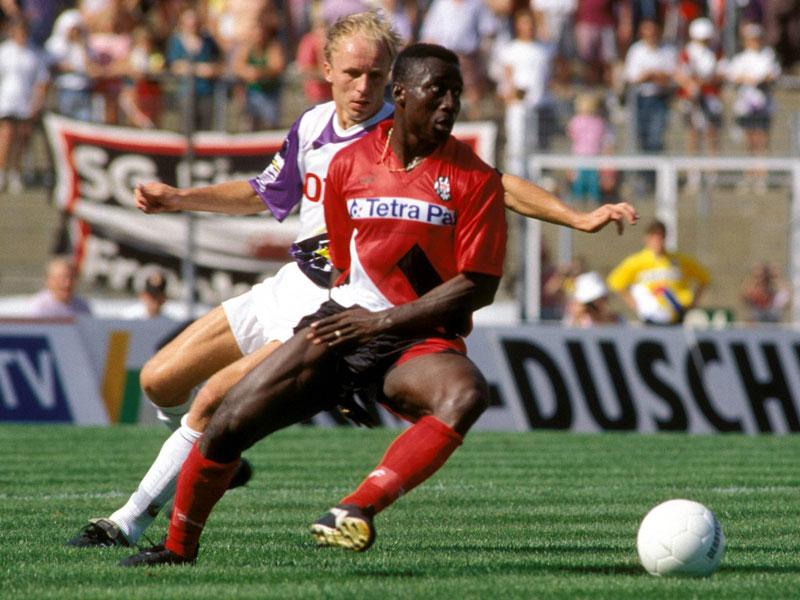 1993: Anthony Yeboah (Eintracht Frankfurt) - 20 Tore