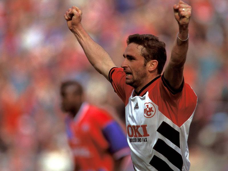1994: Stefan Kuntz (1. FC Kaiserslautern) - 18 Tore