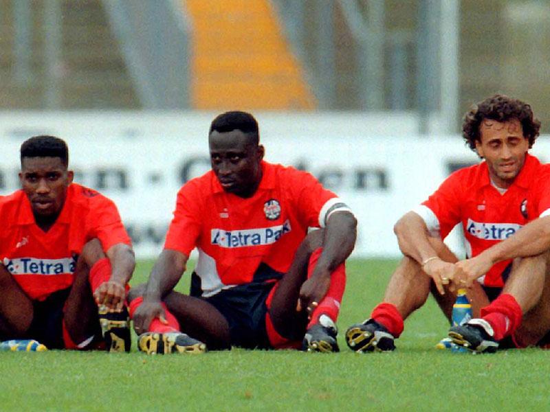 1994: Anthony Yeboah (Eintracht Frankfurt) - 18 Tore