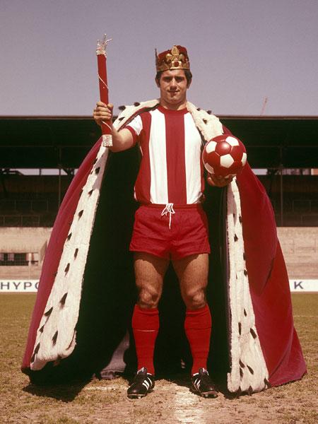 1969: Gerd Müller (FC Bayern) - 30 Tore