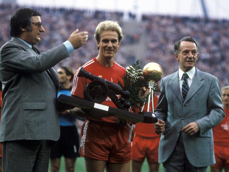 1980: Karl-Heinz Rummenigge (FC Bayern) - 29 Tore