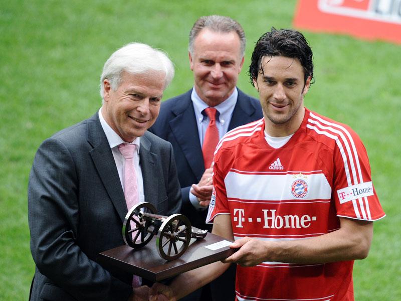 2008: Luca Toni (FC Bayern) - 24 Tore