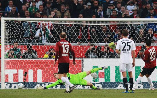 Abdellaoue trifft zum 1:0