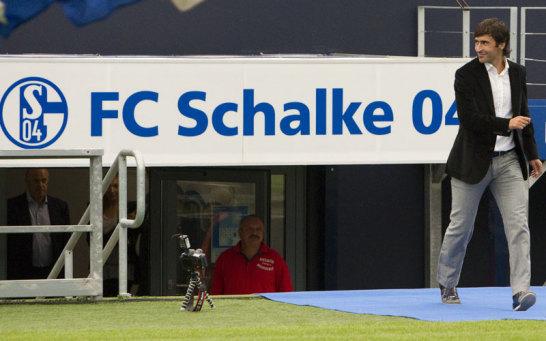 Ankunft auf Schalke