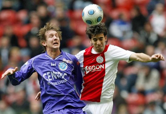 Luuk de Jong und Oleguer von Ajax