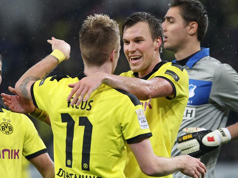 Marco Reus und Kevin Großkreutz (re.)