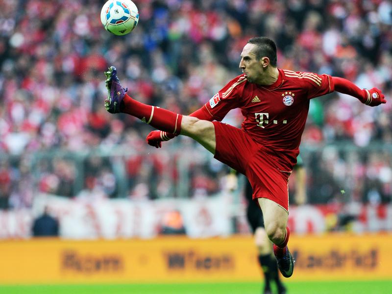Weltklasse: 1. Franck Ribery (Bayern München)