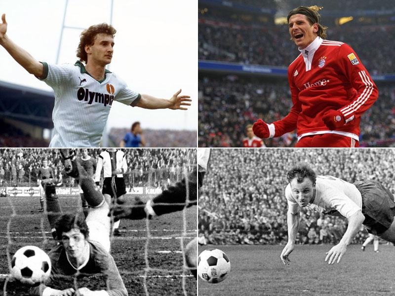 Völler, Gomez, Fischer, Seeler