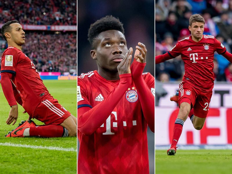 So lange laufen die Verträge der Bayern-Profis - Bundesliga | Bildergalerie - kicker
