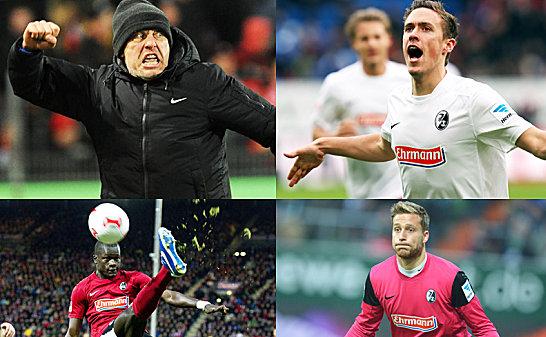 Dem SC Freiburg winkt nach dem Coup in Bremen nun sogar der Sprung auf Platz vier.