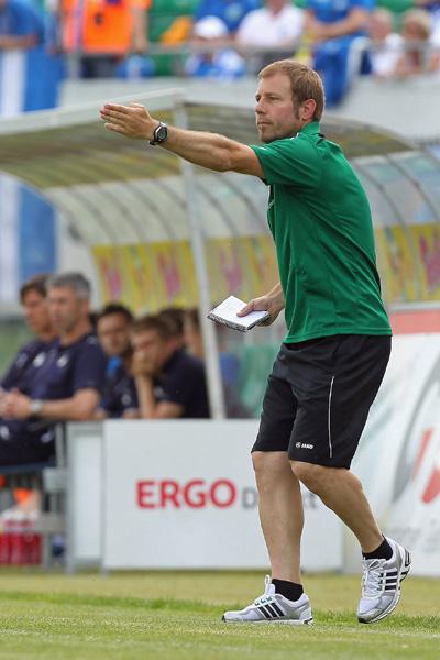Frank Kramer als Coach der SpVgg Greuther Fürth II