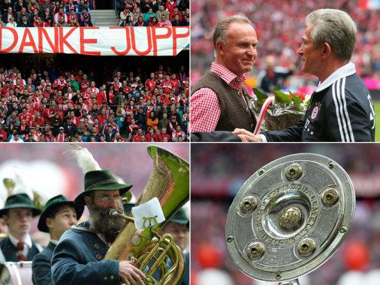 Es hat zwei Jahre gedauert. Aber am 33. Spieltag war es soweit, in M�nchen wurde wieder eine Meisterparty gefeiert.