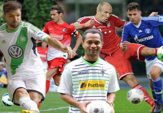 Diego, Julian Schuster, Raffael, Arjen Robben & Adam Szalai
