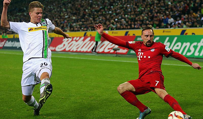 Nico Elvedi gegen Franck Ribery