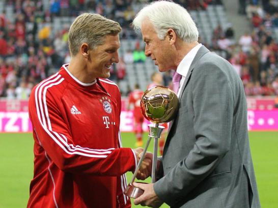 Bastian Schweinsteiger & Rainer Holzschuh