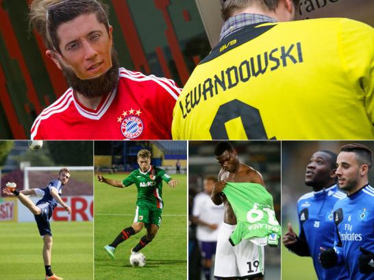 Auch im Winter drehte sich das Transfer-Karussell in Deutschlands Beletage. Die Neuzug�nge der 18 Bundesligavereine im Bild...