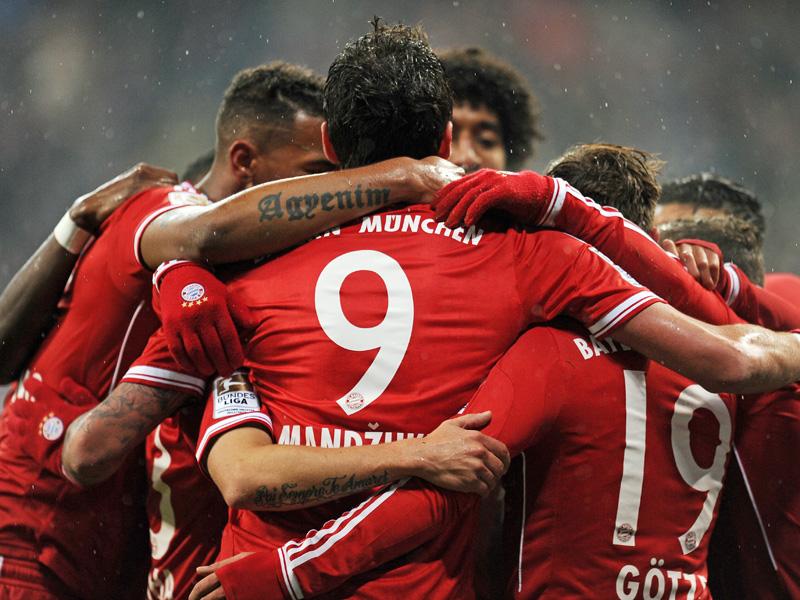 Torjubel FC Bayern München