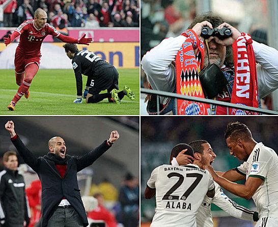 Die Rekordjagd der Bayern
