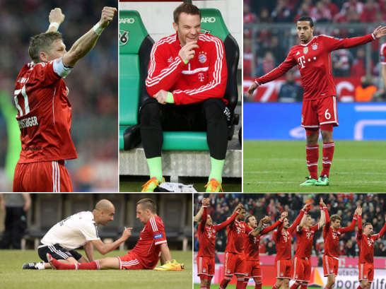 Bayern M�nchen 2013/14