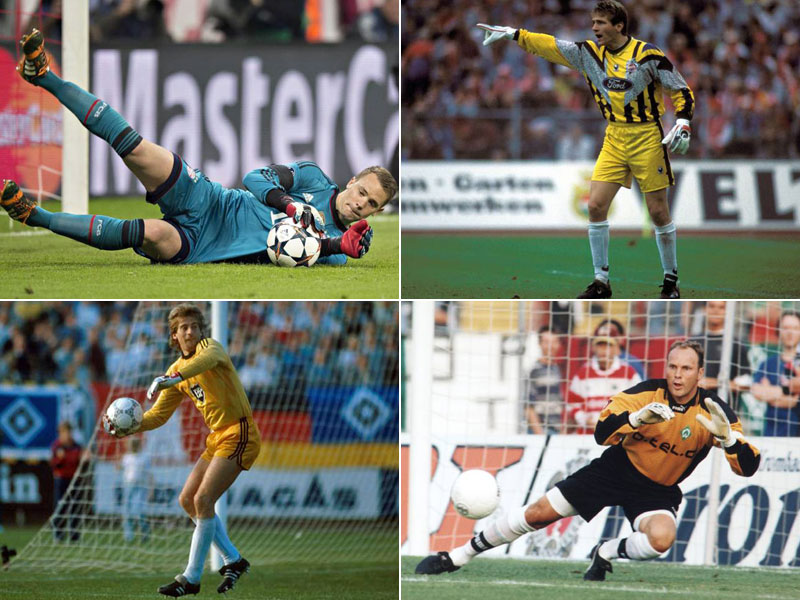 Top-Torhüter nach 250 Bundesligaspielen