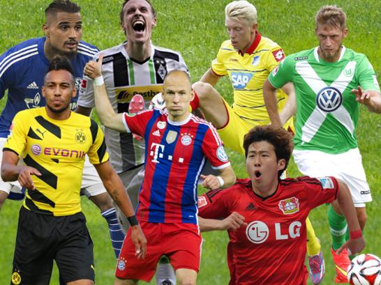 Die Bundesliga-Trikots 2014/15