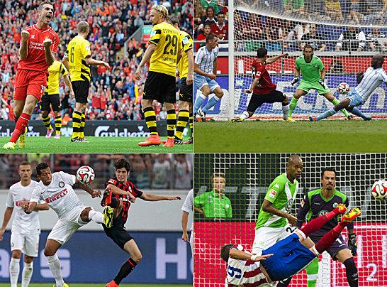 Die Vereine der ersten und zweiten Bundesliga gehen so langsam in die hei�e Phase der Vorbereitung. Zum Abschluss belohnen sich die Klubs noch einmal selbst - und locken ihre Fans reihenweise mit namhaften Testspiel-Gegnern. Die Sommer-Kracher in Bildern...