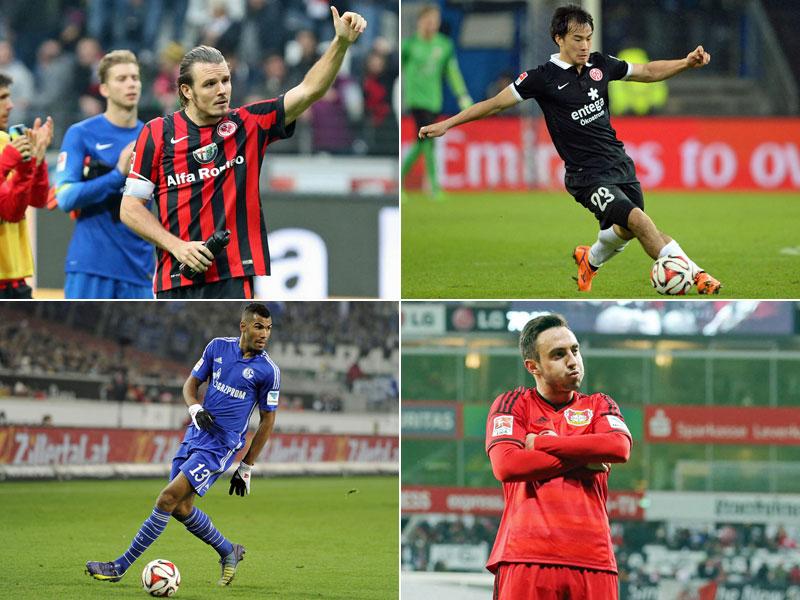 Von Meier bis Joselu: Die besten Bundesliga-Torjäger 2014