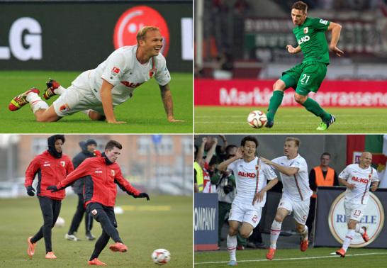 Die Leihspieler des FC Augsburg