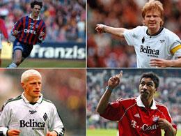 Trikottausch: Diese Spieler liefen für Bayern und Gladbach auf