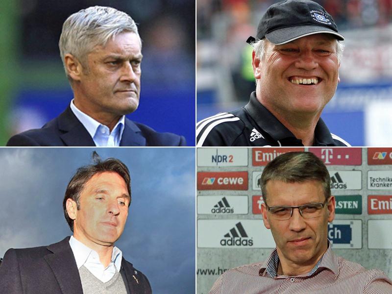 Die HSV-Trainer seit 2008 - und ihr Punkteschnitt | Bundesliga - kicker