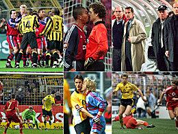 FCB vs. BVB: Beißen, Nasenstüber, Modetrends