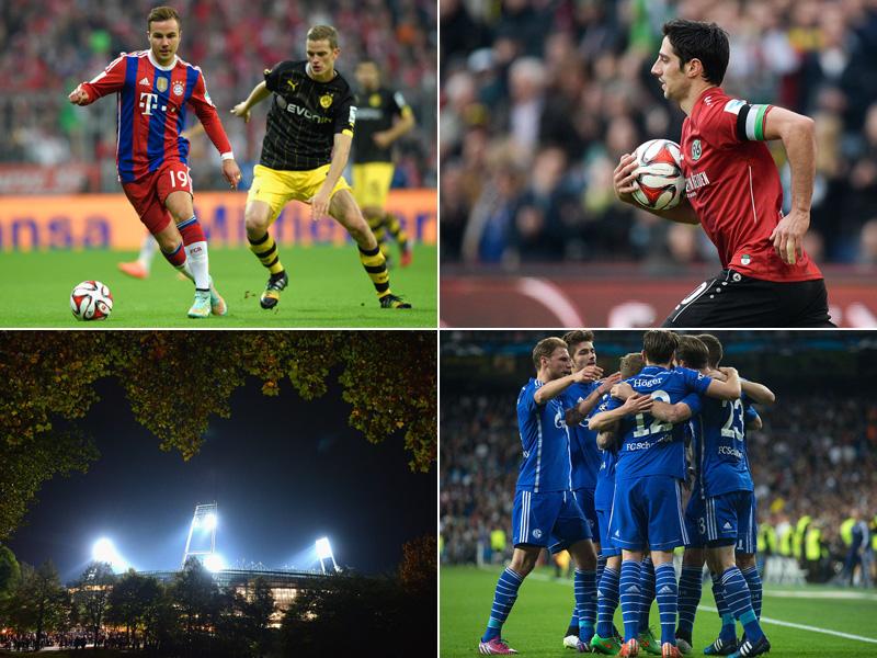 Angstgegner HSV - Liebling VfB - Serienvergleich BVB und FCB