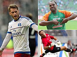 Zwei noch aktiv: Diese 21 spielten für Werder und den HSV