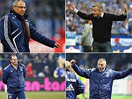 Schalker Trainer-Kreisel: Die S04-Coaches der letzten elf Jahre