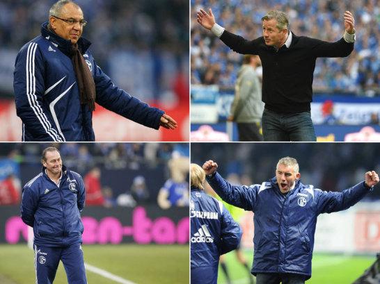 Der Punkteschnitt der Schalke-Trainer