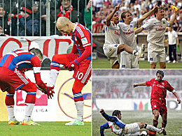 HSV in München: Acht Klatschen, zwei Siege