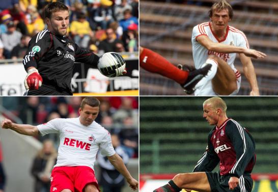 Wechselspiele zwischen Bayern M�nchen und K�ln