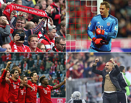 Bayern auf Rekordjagd