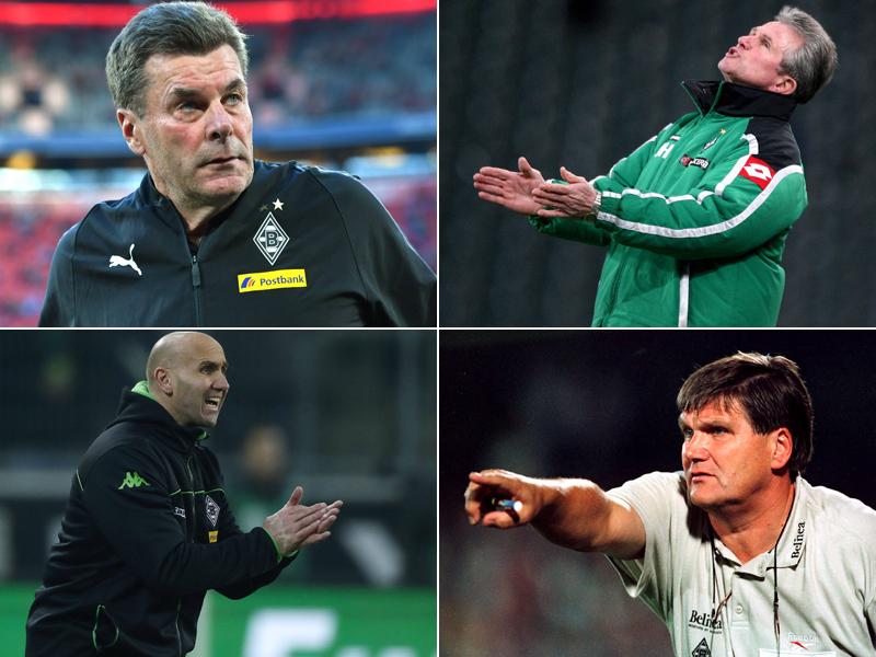 Nur vier besser: Heckings Punkteschnitt in Gladbach - Bundesliga   Bildergalerie - kicker