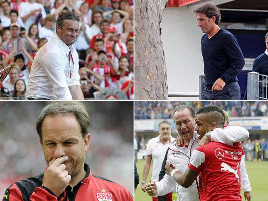 Die Saison 2006/07 scheint wie aus einer anderen Welt. Der VfB Stuttgart feierte unter Trainer Armin Veh am letzten Spieltag die deutsche Meisterschaft. Danach ging die Wilde Fahrt der Schwaben los. In den letzten Jahren entwickelte sich der Traditionsverein mit den hohen Anspr�chen zu einem zuverl�ssigen Abstiegskandidaten und wechselte fr�hlich die Trainer. Ein �berblick...