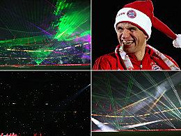 Der FC Bayern M�nchen verabschiedet seine treuen Fans