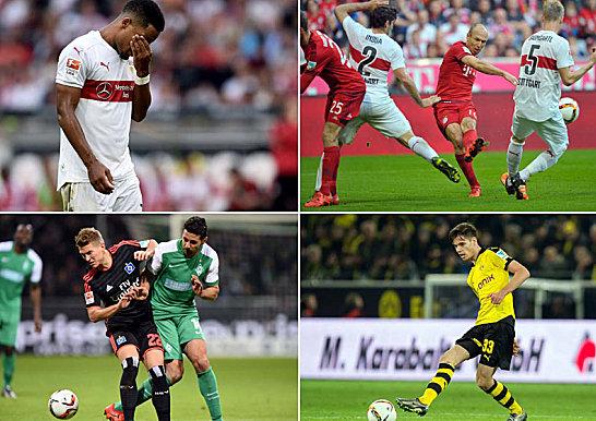 Top- und Flopwerte der Bundesliga-Hinrunde