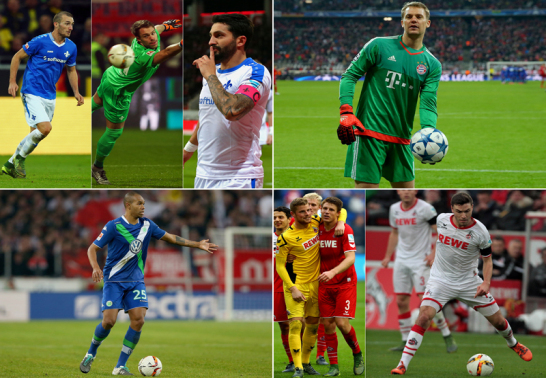 Die Dauerbrenner in der Bundesliga