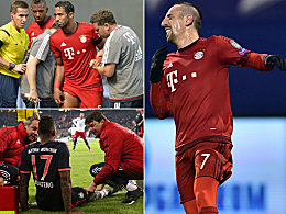 Bayerns Verletzungen: Boateng ist schon die Nummer 14