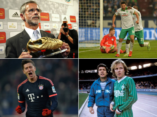 Die ewige Bundesliga-Torsch�tzenliste