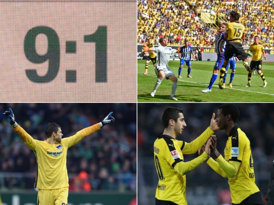 Statistisches zu Hertha vs. Dortmund