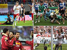 Leipzig klettert: Höchste Siege der Bundesligisten